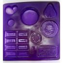 Mолд пластиковый набор шоколадок st-0143