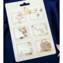 Набор для создания украшений №5 цвет золото-серебряный 2751133