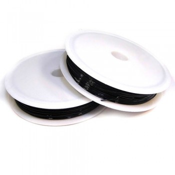 Нить-резинка, круглая, без оплетки, 0,4 мм*25 м, 7709554