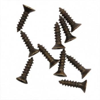 Мини шуруп 10г. 8мм, бронза ШКМ1.1.1