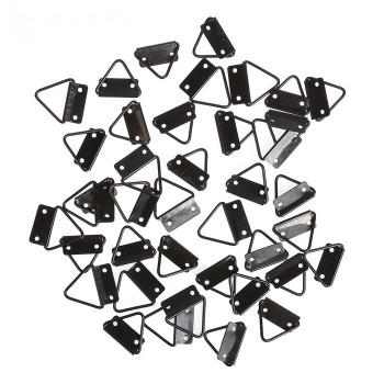 Подвес металл для картин, фоторамок чёрный 3,2х2,4 см 3531319