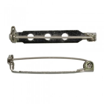 Булавка. Основа для броши - 32 мм, упаковка из 10 шт (1375819)