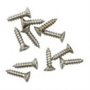 Мини шуруп 10г. 8мм, серебро ШКМ5.1.5