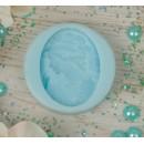 """Молд силикон для полимерной глины """"Девушка с бусами"""" 4х3 см (2340400)"""