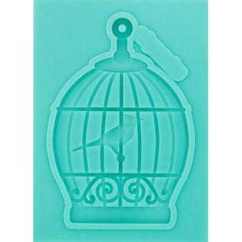 """Молд """"Клетка с птицей 2""""(2677837)"""
