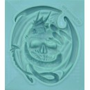 "Молд ""Череп с драконом"" ARTMD0457"