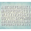 "Молд алфавит ""Шрифт Kirsty"" латинский (XS) ARTMD0787"