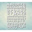 "Молд алфавит ""Шрифт Aardvark"" латинский (XS) ARTMD0891"