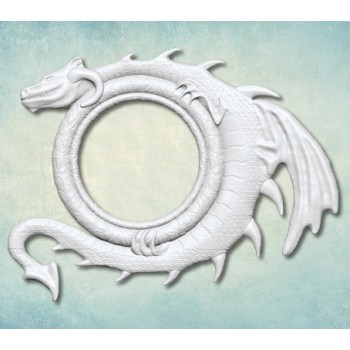 """Молд """"Рамка c драконом"""" (ХL) ARTMD1018"""