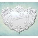 """Молд надпись """"Wedding"""" ARTMD0538"""