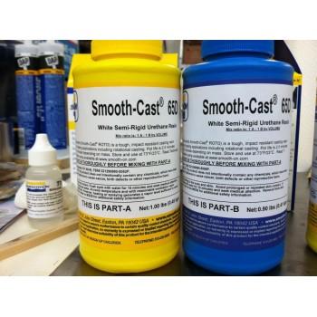 Полужесткий полиуретановый пластик Smooth-Cast Semi-Rigids 65D (0,86 кг)